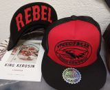 Snapback / Flat Cap von King Kerosin - Speedfreak red/black