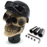 Schaltknauf - Skull Head With Pilot Hat
