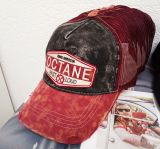 Vintage Trucker Cap -  Octane - Red/black