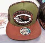 Snapback / Flat Cap from King Kerosin - Speedfreak - brown/green