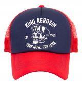 Trucker Cap von King Kerosin - Pray now. cry later