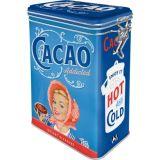 Blech Verschluss Vorratsdose - Cacao