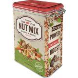 Blech Verschluss Vorratsdose - Nut Mix
