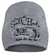 Beanie from King Kerosin - Salt Flats Rod / grey