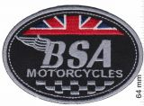 Patch - BSA Motorcycles UK
