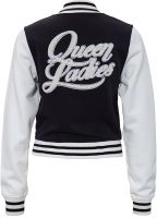 College / Baseball Jacket - Queen Ladies / black