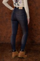 Queen Kerosin High Waist Jeans - Betty / Tint Wish