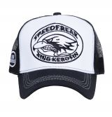 Trucker Cap von King Kerosin - Speedfreak / weiss
