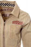 Workwear Kleid von Queen Kerosin - Motor Queen Service / beige