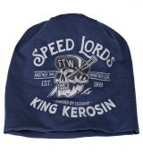 Beanie Stoffmütze von King Kerosin - Speed Lords / blau