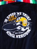 KING KEROSIN BESTICKTE RETRO Shirt / In Speed we Trust