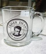 Glas Tasse / James Dean - Limitet Edition