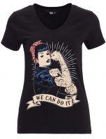 T-Shirt von Queen Kerosin  / We can do it
