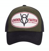 Trucker Cap Flex von King Kerosin - Louder & Faster / grün - schwarz