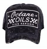 Vintage Trucker Cap - King Kerosin / Octane Oils - schwarz