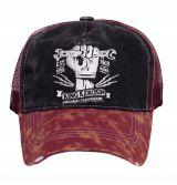 Vintage Trucker Cap - King Kerosin / Orig. Trademark - schwarz/rot