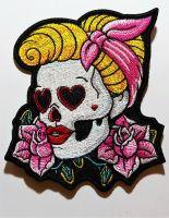 Patch - Rock a Billy Girl / Skull Rosen Herzen