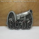 Buckle - AC DC / cannon