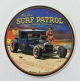Vintage Sticker- Surf Patrol / klein