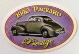 Vintage Sticker- 1940 Packard Prestige / klein