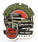 Vintage Sticker- Custom Deluxe / klein