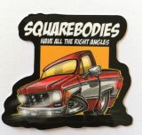 Vintage Sticker- Squarebodies / klein