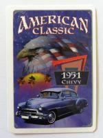 Vintage Sticker- American Classic 1951 Chevy / klein