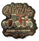 Vintage Sticker- Henks / klein