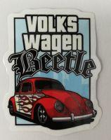 Vintage Sticker- Volkswagen Beetle / klein