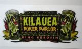 King Kerosin Sticker Kilauea Poker Parol /klein