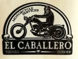 King Kerosin Sticker El Caballero Motorcycle Services /klein