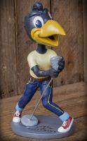 Wackelkopf Figur - Schmiere / Rumble59 - Hip Shaking Hank