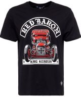 King Kerosin Regular T-Shirt / Red Baron