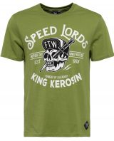 King Kerosin Regular T-Shirt / Speed Lords - Cactus grün