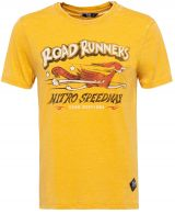 Enzyme Wash T-Shirt von King Kerosin -  Roadrunner / Toasted