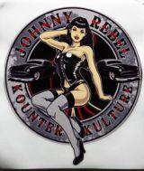 Pin up Sticker - Johnny Rebel