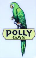Race Sticker - Polly Gas