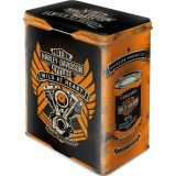 Steel Tin Boxes Large - Harley Davidson / Wild at Heart