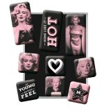 Magnet Set. - Marilyn / Some Like it Hot