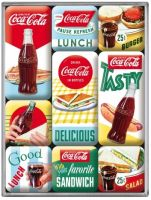 Magnet Set. - Coca Cola Delicious
