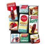 Magnet Set. - Coca Cola Delicious