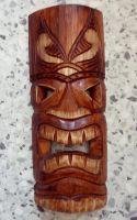Tiki Holz Masken / Klein - Tiki Nr.3
