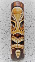 Tiki Holz Masken / Medium - Tiki Nr.2