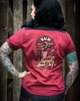 Damen Bluse von Rumble59 - SUN / Legends never Die