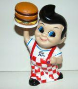 Bob`s Big Boy mit Hamburger - Kasse