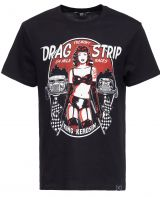 King Kerosin Regular T-Shirt / Drag Strip Racer - schwarz