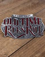 Rumble 59 Buckle - Old Time Rock'n'Roll