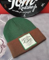 Knitted Hat / Beanie from King Kerosin - Sailors Grave / green - brown