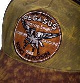 Vintage Trucker Cap - King Kerosin - Pegasus / green-brown