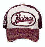 Vintage Trucker Cap - King Kerosin - Panhead / weiss-rot